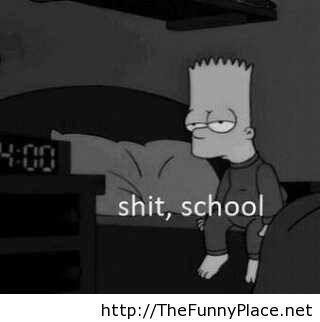 School again