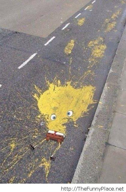 Spongebob is gone