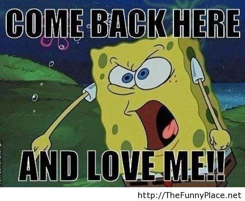 Spongebob message
