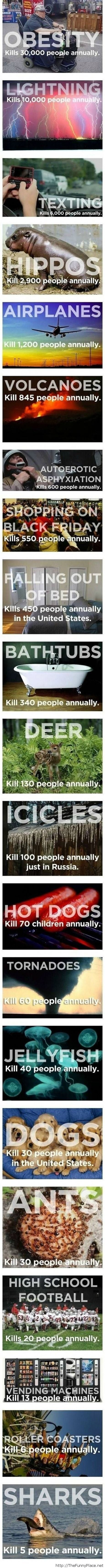 Statistics of life