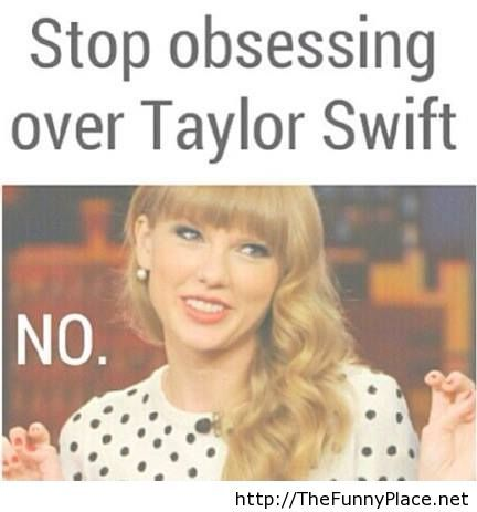 Stop obsesing over Taylor Swift