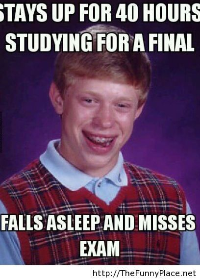 Study for finals funny