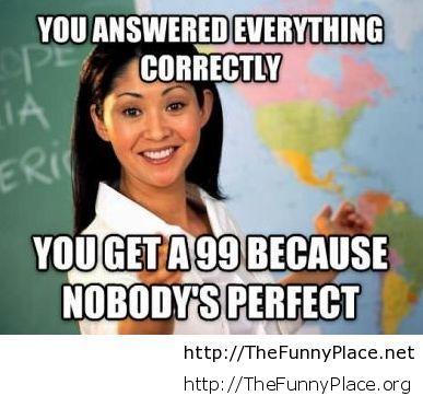 Teachers school moment