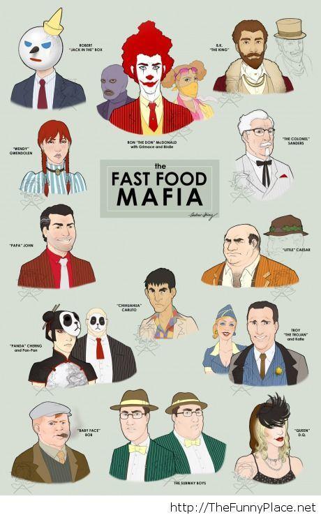 The fast food mafia