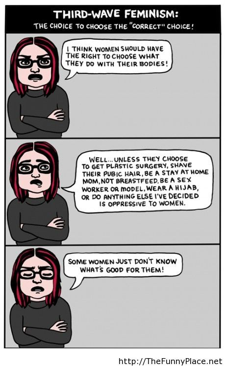 Third-Wave Feminism comics