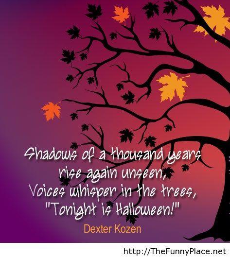 tonight is halloween quote - Kids Halloween Quotes