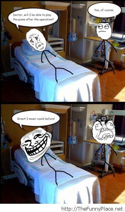 Troll funny comic