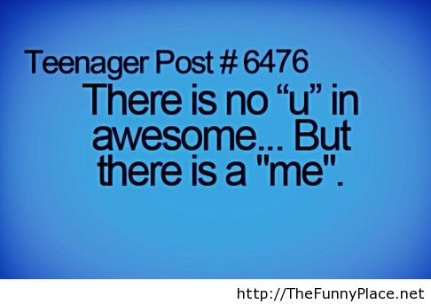 Tumblr funny quote with awesoME