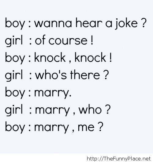 Wanna hear a joke