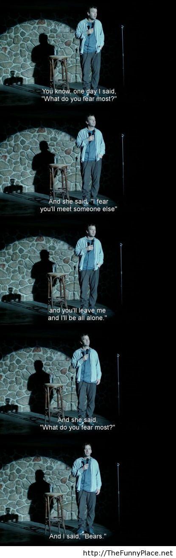What do you fear most joke