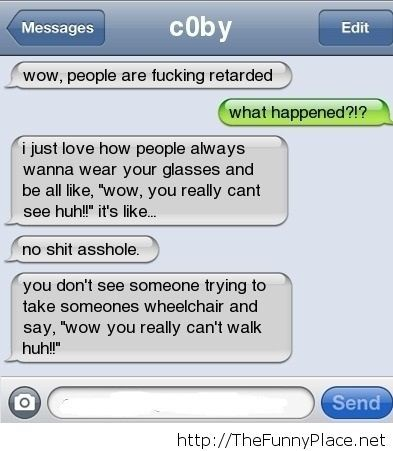 What happened funny conversation