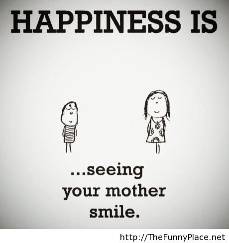 What happiness is...