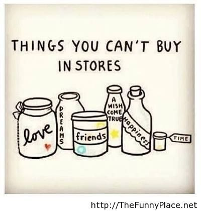 What you cannot buy with money