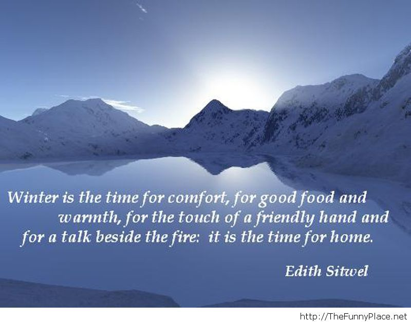 Winter amazing quotes 2013