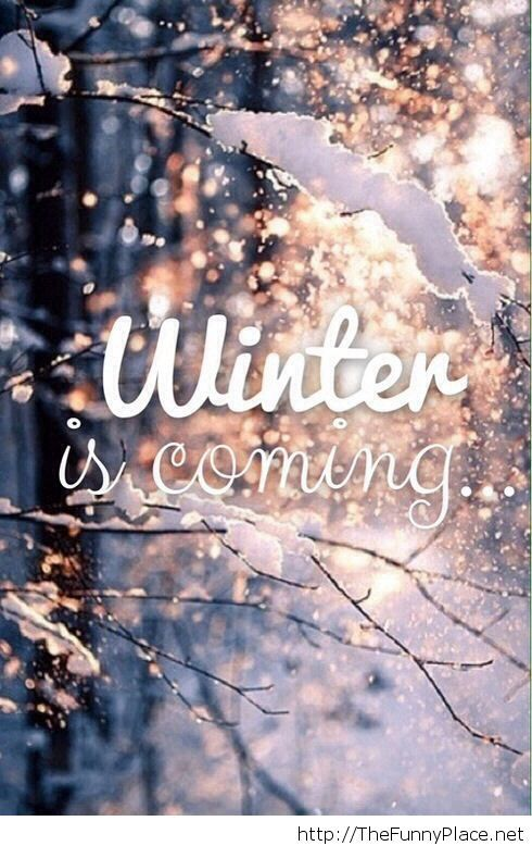 Winter is coming awesome