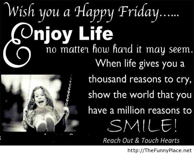Wish you a Happy friday