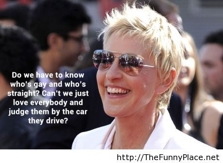 You have to love Ellen