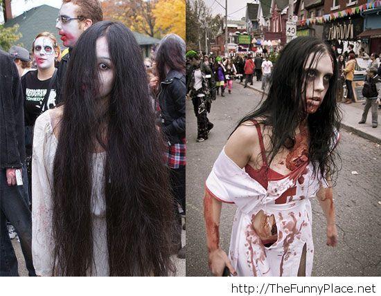 Zombie halloween 2013 costume