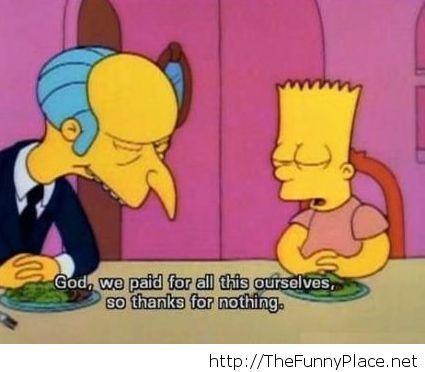 Bart from Homer Simspson cartoon
