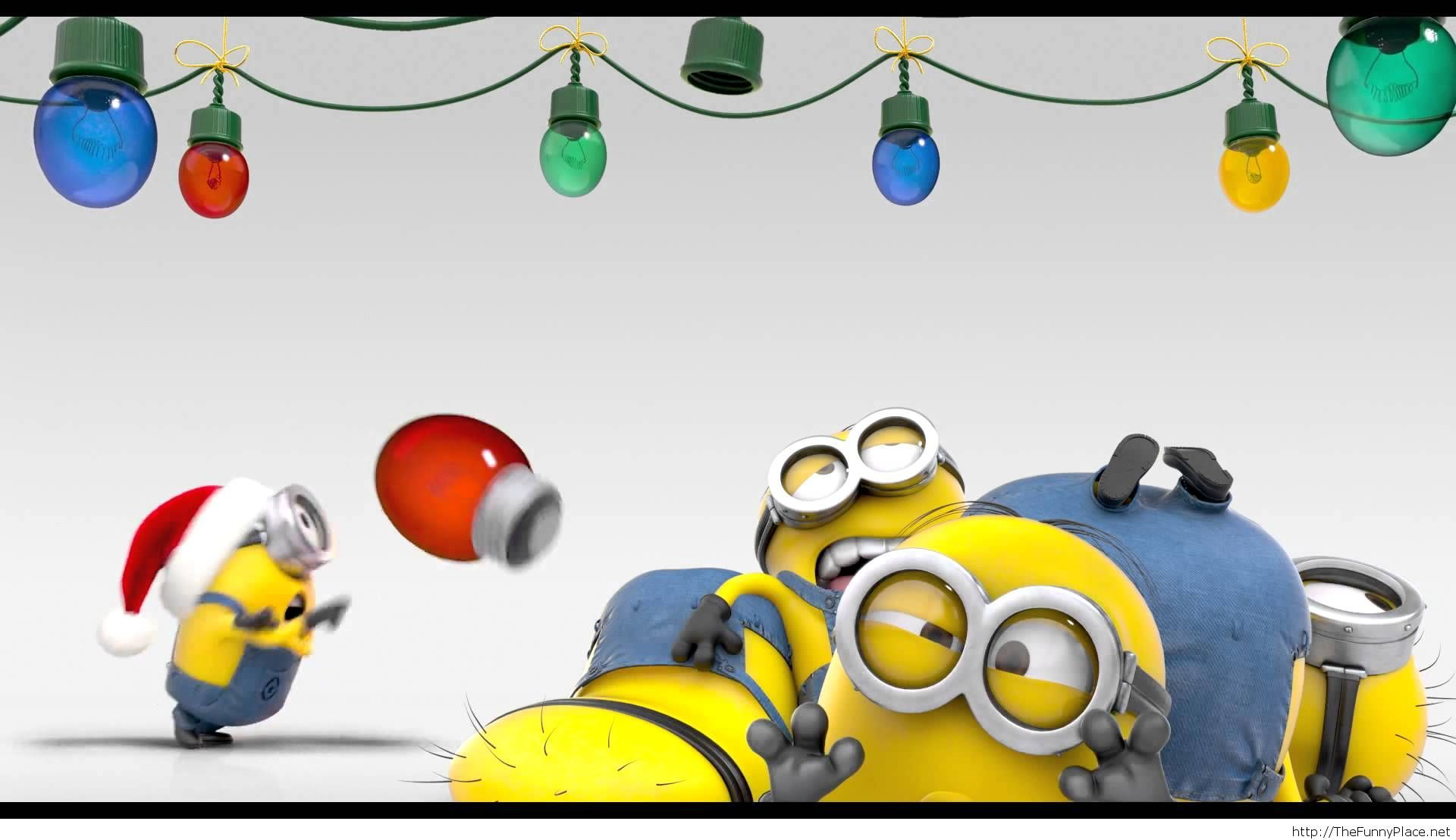 minion christmas wallpaper – TheFunnyPlace