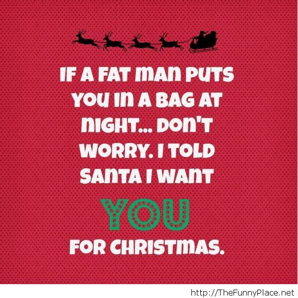 Funny christmas saying