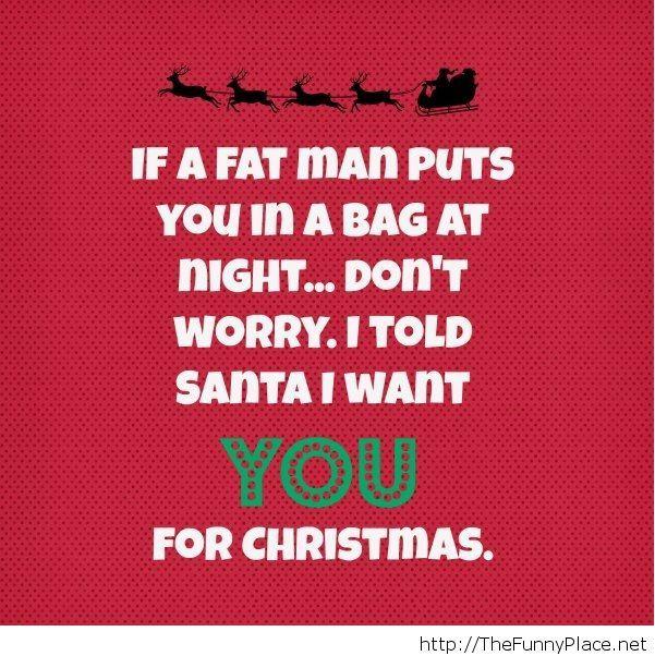 Funny christmas saying