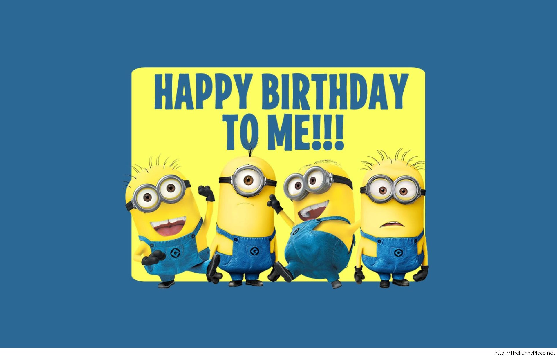 Happy birthday to me minions saying
