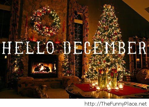 Hello december 2013 and christmas