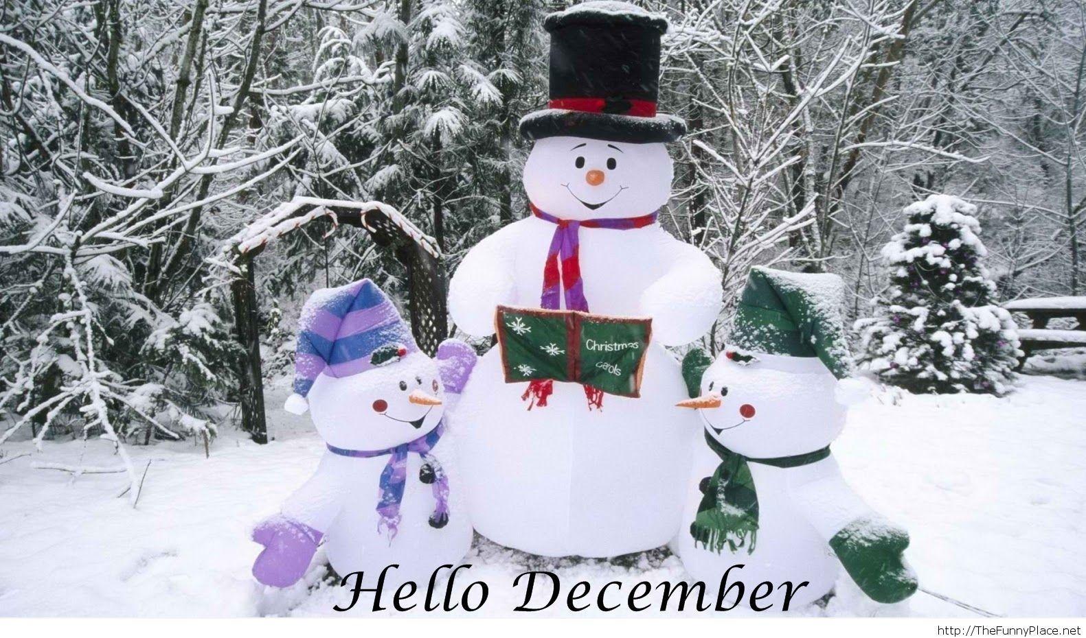 Hello december 2013 wallpaper