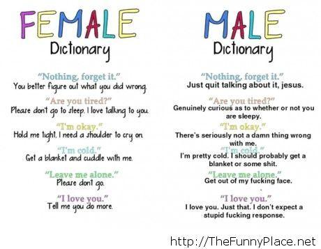 How to speak woman