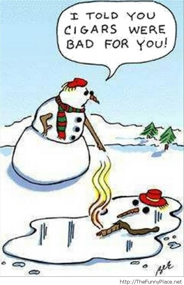 I-Told-You-Cigars-Were-Bad-For-You-Snowman-Funny-Christmas-Picture