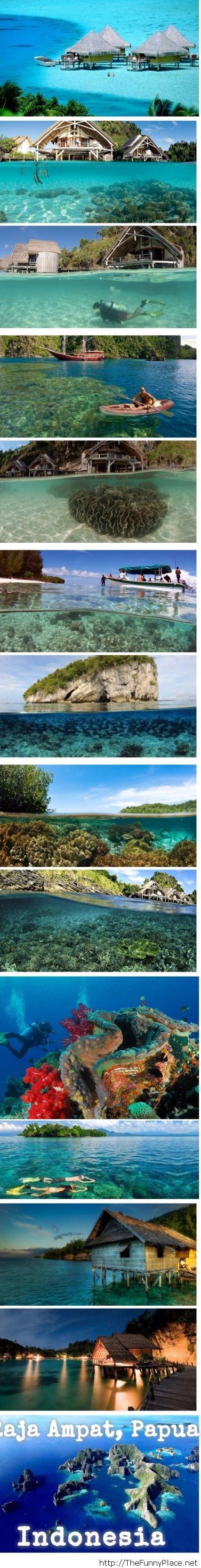Indonesia, Raja Ampat, Papua awesome images