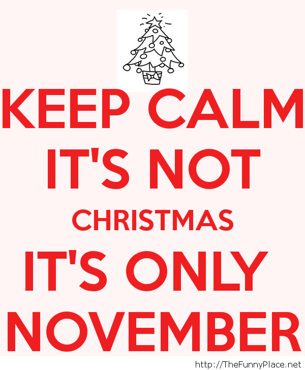 Keep calm Christmas Funny