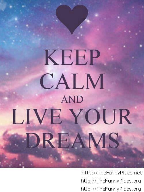 Keep calm motivational for love