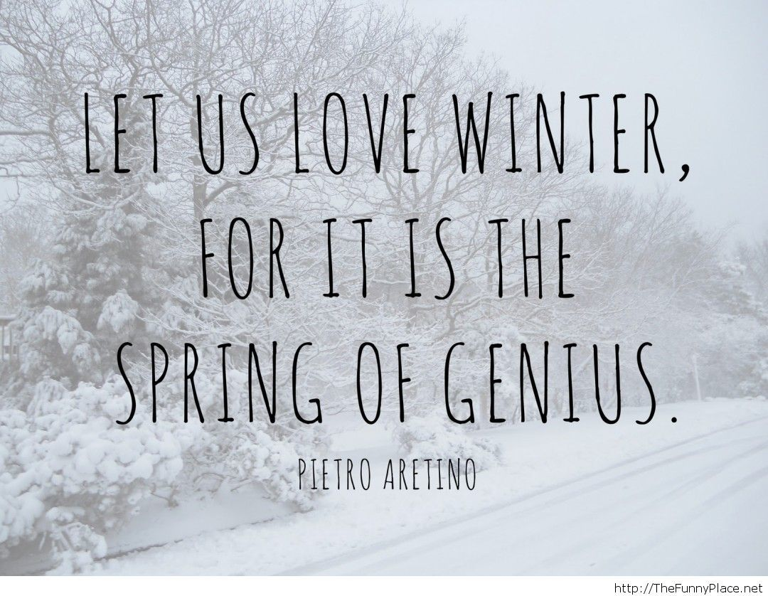 Quotes Winter Love Winter Quotes  Thefunnyplace