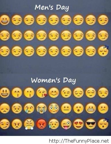 Men vs women day