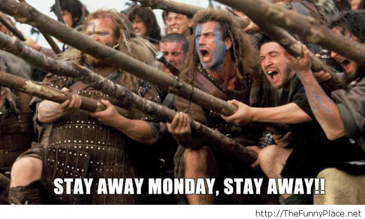 Monday funny image, stay away!