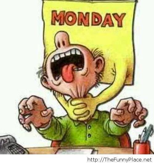 Monday funny image