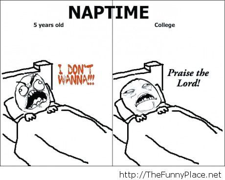 Naptime moments of life