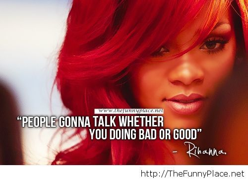 Rihanna 2014 quote with awesome image