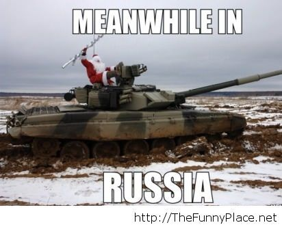 Santa Claus in Russia