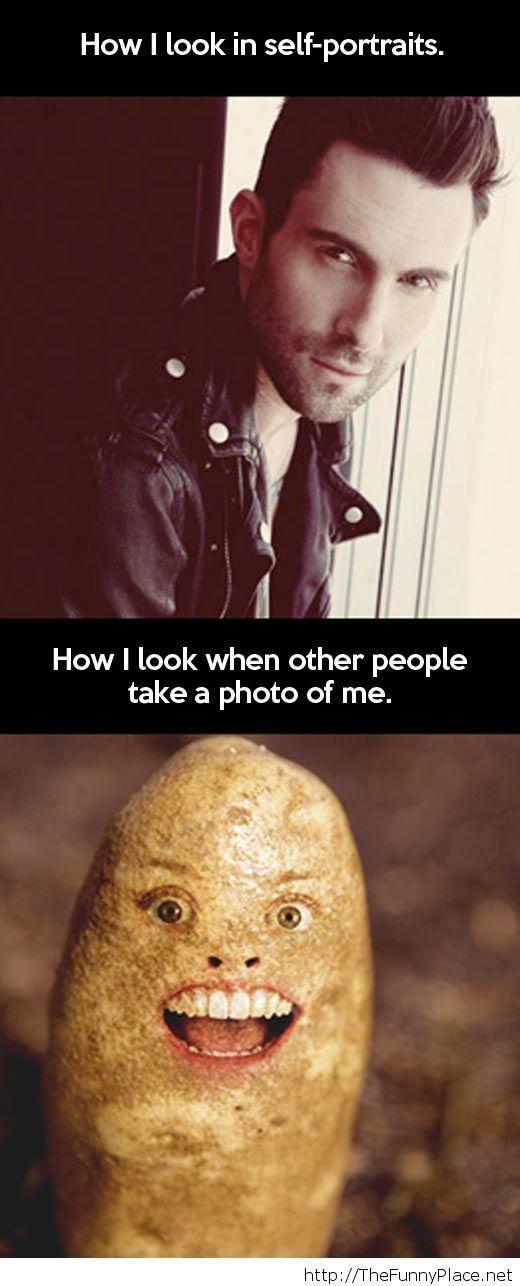 Self portraits are funny