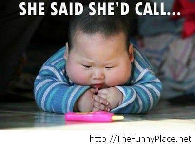 She said..