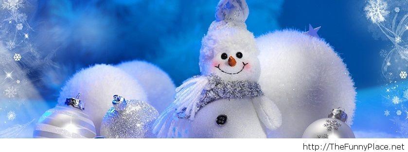 Snowman free wallpaper