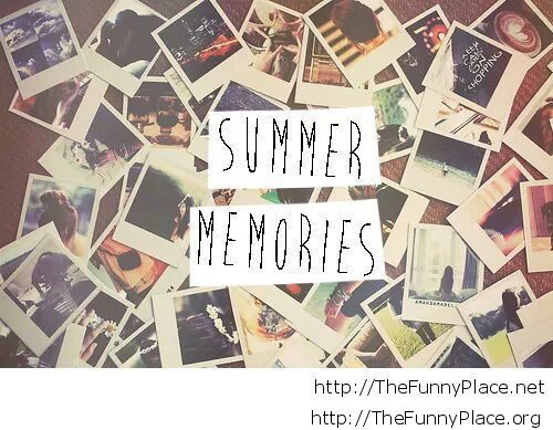 Summer memories wallpaper