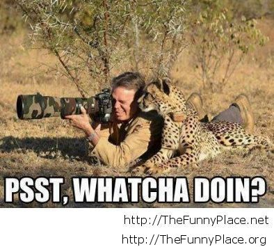 Taking photos in africa