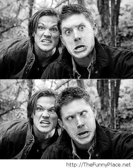 Taking pictures with your best friend