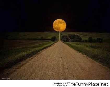 This is the way to moon