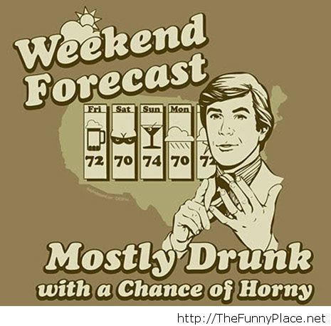 This weekend forecast