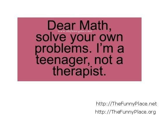 Tumblr math saying